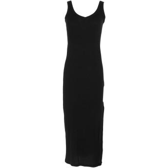 《セール開催中》LAB ANNA RACHELE レディース 7分丈ワンピース・ドレス ブラック 42 レーヨン 50% / コットン 50%