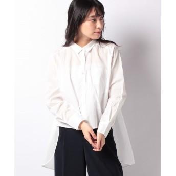 マーコート front short back long shirt レディース OFFWHITE f 【MARcourt】
