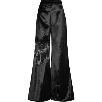 《セール開催中》CUSHNIE レディース パンツ ブラック 0 レーヨン 68% / ポリエステル 32% / ナイロン / 金属繊維 / シルク