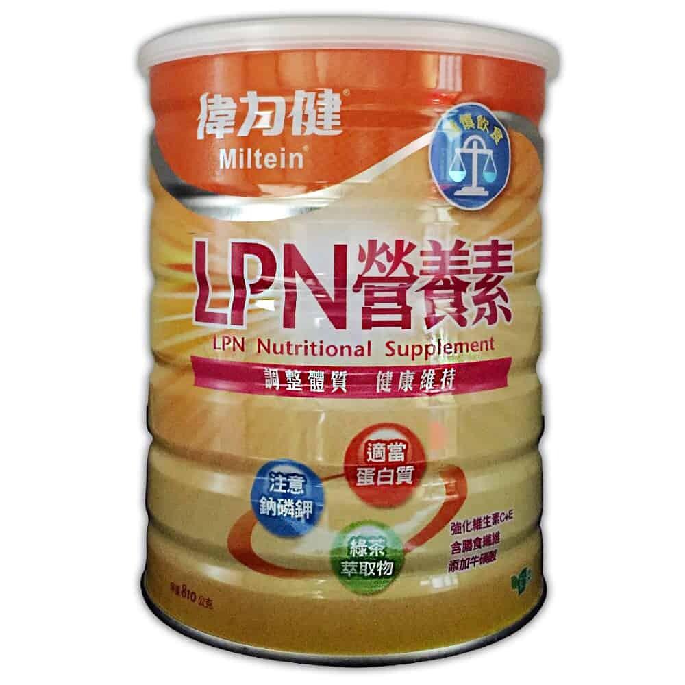 三多 偉力健可安lpn營養素 810g/瓶