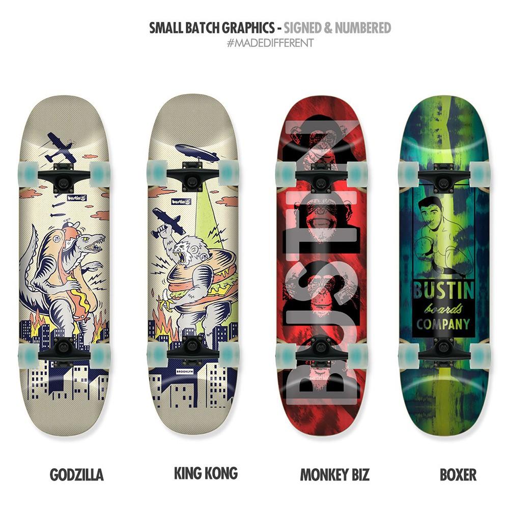 【Bustin Boards】(滑板長板、交通板) - Yoface (E)Core (板身)