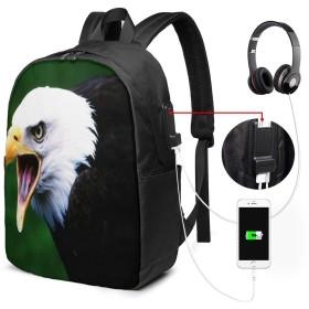 バックパック USB ポート搭載 17インチPC対応 イーグル20 大容量ビジネスリュック 通勤 通学 出張 旅行 メンズ レディース