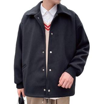 Heaven Days(ヘブンデイズ ) ステンカラーコート 秋冬 コート ジャケット アウター ショート丈 ビッグシルエット メンズ 1912C0085