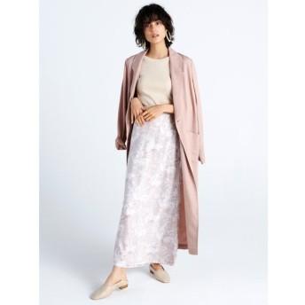 フレイ アイディー ナローマキシサテンスカート レディース PNK 1 【FRAY I.D】