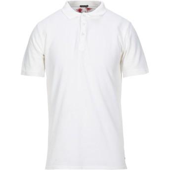 《セール開催中》RETOIS メンズ ポロシャツ アイボリー L コットン 100%