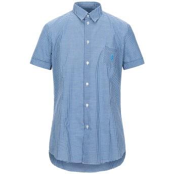 《セール開催中》ICE ICEBERG メンズ シャツ ブルー XL コットン 100%
