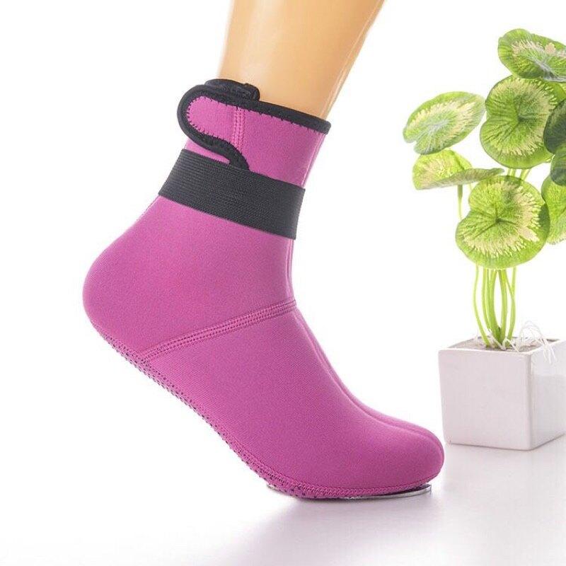 ✨台灣出貨,可自取✨ 3mm潛水襪沙灘襪 防滑保暖冬泳衝浪襪子 潛水用品*紫玉蘭