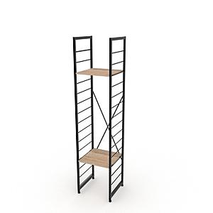 組 - 特力屋萊特 組合式層架 黑框/淺木紋色 40x40x188cm