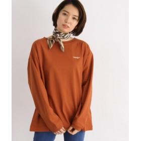 オゾック Wranglerロング袖Tシャツ レディース ダークオレンジ(068) 38(M) 【OZOC】