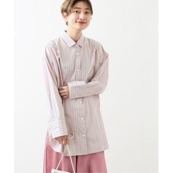 JOURNAL STANDARD タイプライターチュニックシャツ◆ ピンク A フリー
