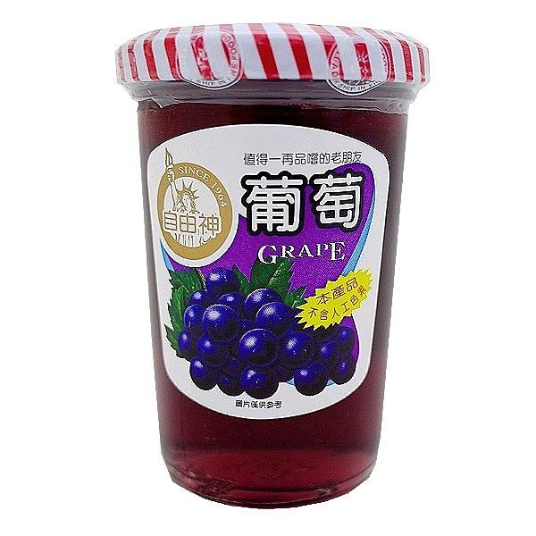 自由神 葡萄 果醬 450g【康鄰超市】