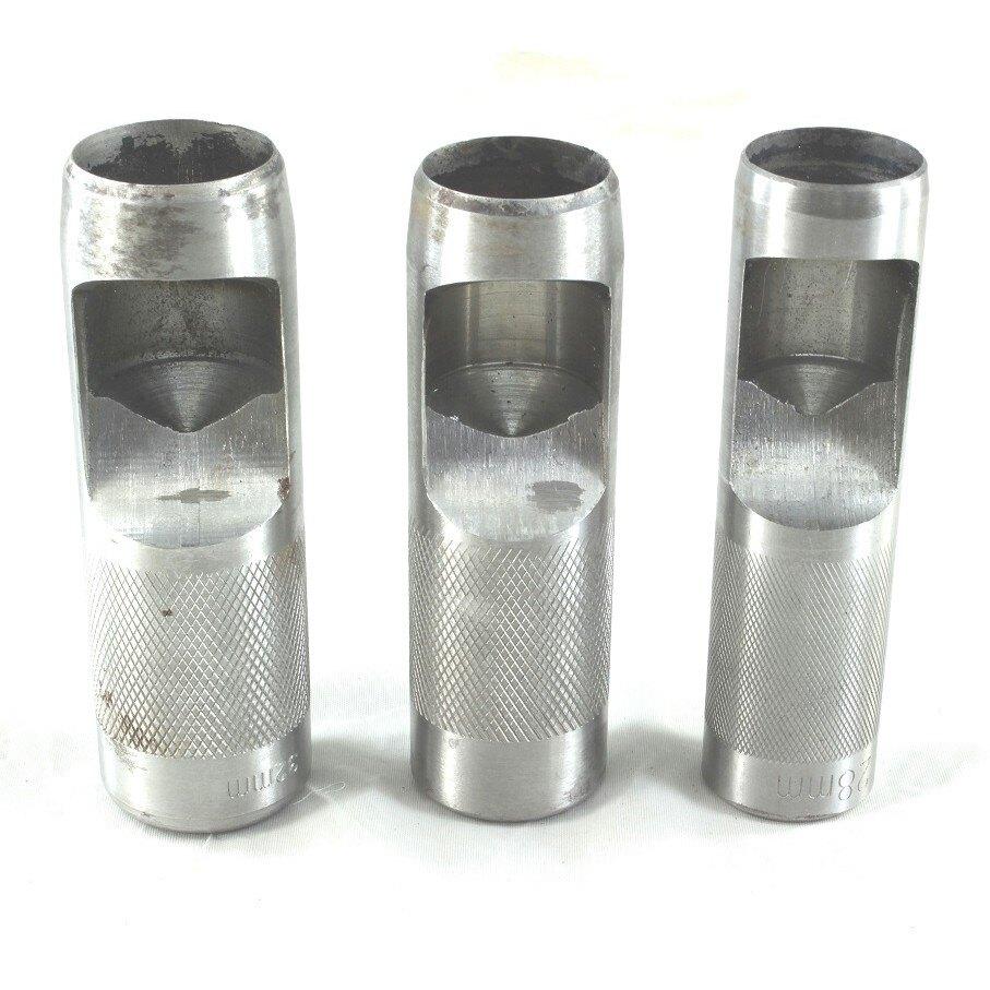 【 圓斬15~40mm】皮帶沖 打洞器 穿洞器 打孔器 丸斬 圓沖 四合扣 鉚釘 撞釘 磁扣 皮雕用打洞工具