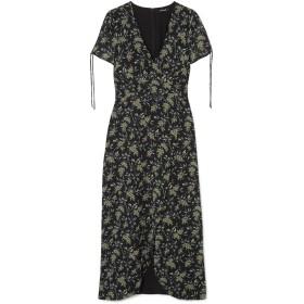 《セール開催中》MADEWELL レディース 7分丈ワンピース・ドレス ブラック 6 ポリエステル 100%