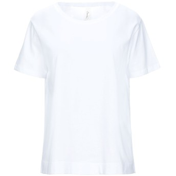 《セール開催中》SOUVENIR レディース T シャツ ホワイト S コットン 100%