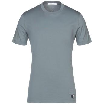 《セール開催中》LOW BRAND メンズ T シャツ 鉛色 1 コットン 100%