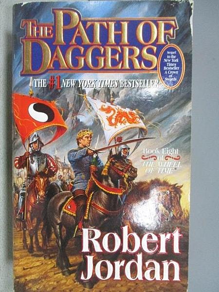 【書寶二手書T3/原文小說_FTG】The Path of Daggers_Robert Jordan
