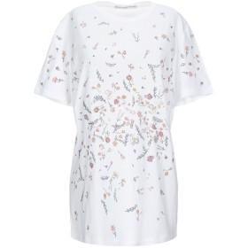 《セール開催中》ERMANNO SCERVINO レディース T シャツ ホワイト 42 コットン 100% / アルミニウム / ガラス