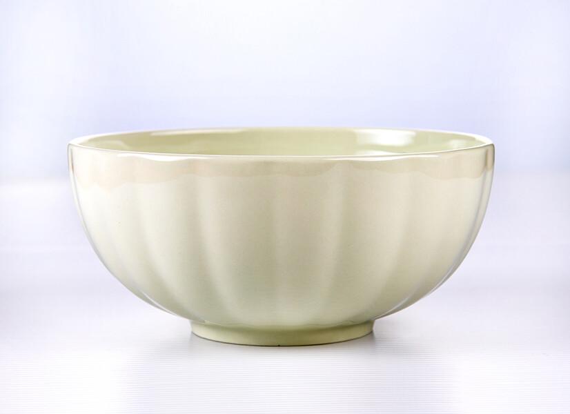 幸運草6吋花型圓碗(特別造型+粉嫩花色)