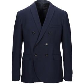 《セール開催中》TONELLO メンズ テーラードジャケット ダークブルー 52 バージンウール 98% / ポリウレタン 2%
