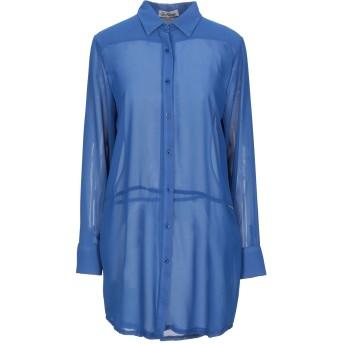 《セール開催中》ALISYA レディース シャツ ブルー S ポリエステル 100%