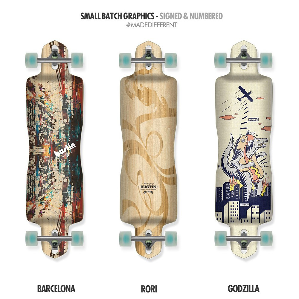 【Bustin Boards】(滑板長板、交通板) - Nobach (E)Core (板身)