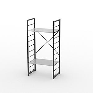 組 - 特力屋萊特 組合式層架 黑框/白板色 60x40x128cm
