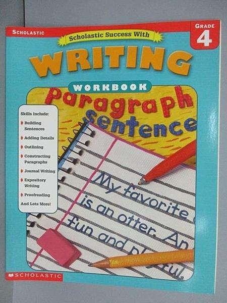 【書寶二手書T9/語言學習_FNO】Writing Workbook_Grade 4