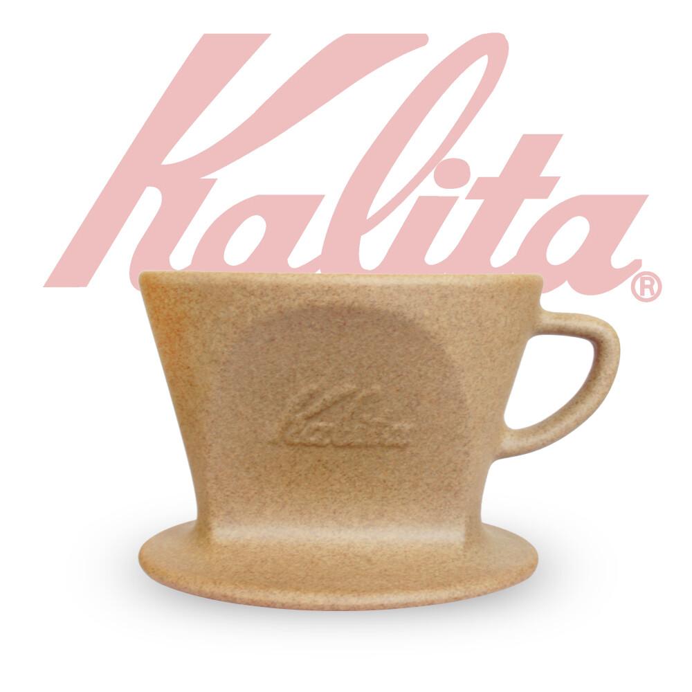日本kalita sg-102系列 砂岩陶土波佐見燒濾杯