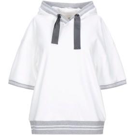 《セール開催中》ELEVENTY レディース スウェットシャツ ホワイト XS コットン 100%
