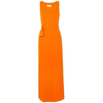 《セール開催中》MARA HOFFMAN レディース ロングワンピース&ドレス オレンジ L オーガニックコットン 100%