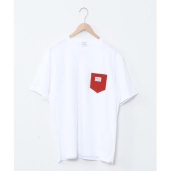 コーエン SMITH'S別注ポケットTシャツ(20SS)# メンズ BRICK SMALL 【coen】