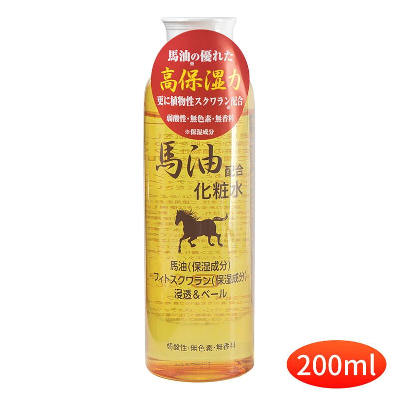 日本純藥jun-cosmetic天然保濕馬油化妝水-200ml