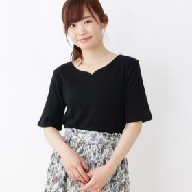 [マルイ]【セール】ハートネック プルオーバー/ピンクアドベ(pink adobe)