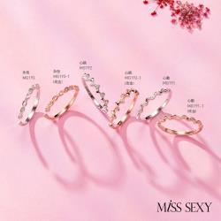 【d2 x Miss Sexy】銀戒指 活戒圍 永恆/心跳/心動 (玫瑰金)