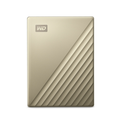 WD My Passport Ultra 4TB 2.5吋USB C行動硬碟 閃耀金