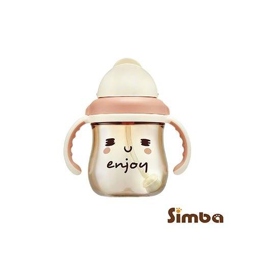 小獅王辛巴Simba 好心情PPSU滑蓋杯250ml-安可再一杯(咖啡)(S8661)★愛兒麗婦幼用品★