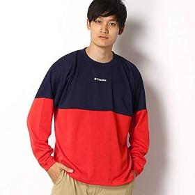 コロンビア(Columbia) メンズTシャツ(サンドストーンロックロングスリーブクルー)【698 SAIL RED/XL】
