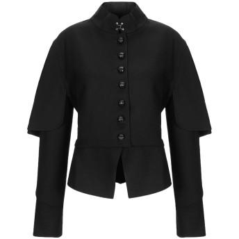 《セール開催中》BURBERRY レディース テーラードジャケット ブラック 36 バージンウール 80% / ナイロン 20%