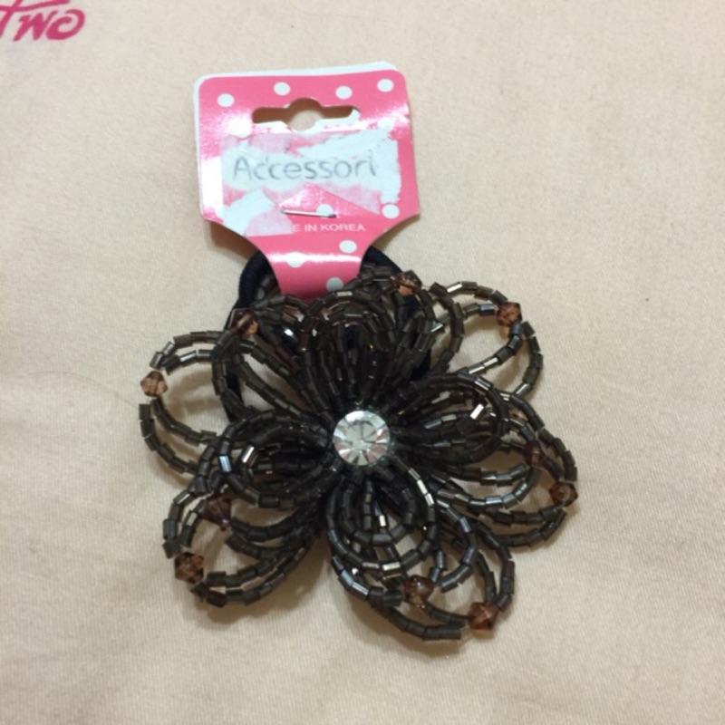 花朵造型髮束