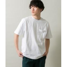 ITEMS(アイテムズ) トップス Tシャツ・カットソー クルーネックポケットTシャツ