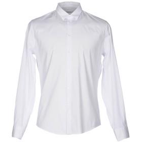 《セール開催中》ICEBERG メンズ シャツ ホワイト M コットン 96% / ポリウレタン 4%