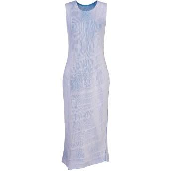 《セール開催中》MM6 MAISON MARGIELA レディース 7分丈ワンピース・ドレス ライラック XS コットン 55% / ポリエステル 45%