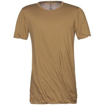 《セール開催中》RICK OWENS メンズ T シャツ カーキ XS コットン 100%
