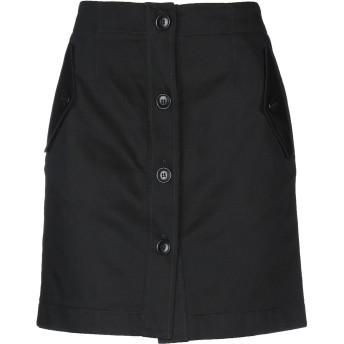 《セール開催中》GIVENCHY レディース ひざ丈スカート ブラック 36 コットン 100%