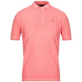 《セール開催中》GRAN SASSO メンズ ポロシャツ コーラル 48 コットン 100%