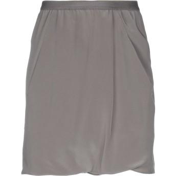《セール開催中》RICK OWENS レディース ひざ丈スカート 鉛色 38 シルク 100%