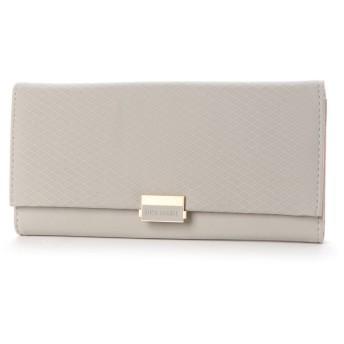 スタイルブロック STYLEBLOCK スマートフォン収納可能三つ折り財布 (グレー)