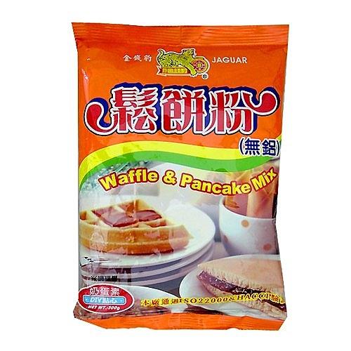 金錢豹 鬆餅粉 500g【康鄰超市】