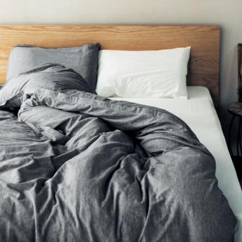 綿100%なめらかニットの枕カバー・掛け布団カバー