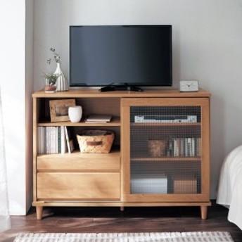 【大型商品送料無料】アルダー材のハイタイプテレビ台